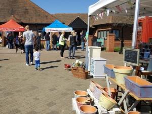 Elvetham Heath Farmers Market in Fleet