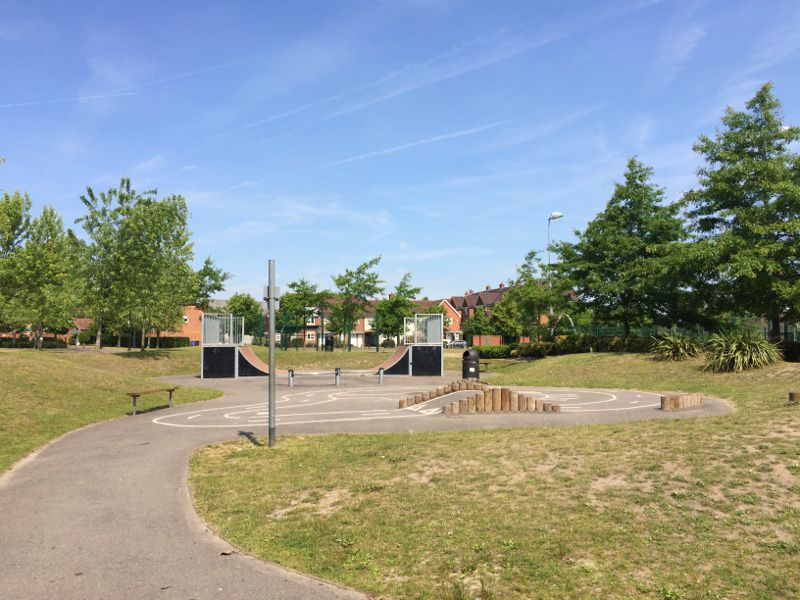 Elvetham Heath Skate Park
